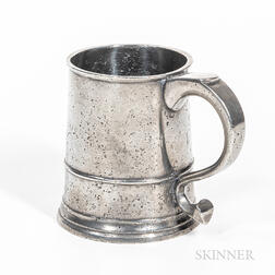 William Kirby Pewter Pint Mug