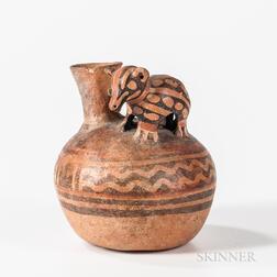 Pre-Columbian Animal Effigy Vessel