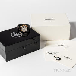 Ball & Ross 18kt Gold Reference 126 Chronograph Wristwatch