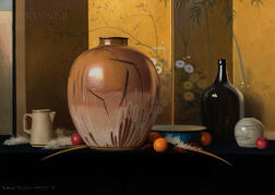 Robert Douglas Hunter (American, 1928-2014)      La Fruita Amigas V
