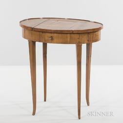 Italian Fruitwood Vanity Table