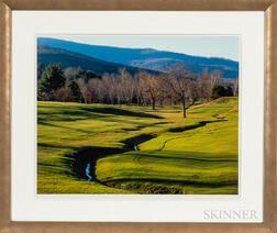 Six Framed Colored Photographs of Massachusetts Views