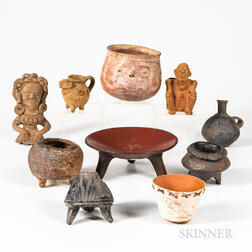 Collection of Pre-Columbian Pottery