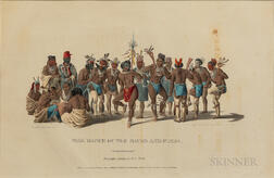 Print from Indian Tribes of North America