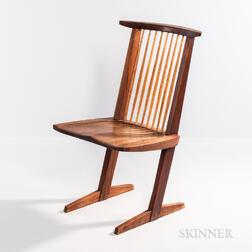 George Nakashima (1905-1990) Conoid Chair