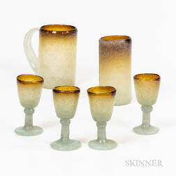 Bubble Glass Beverage Set