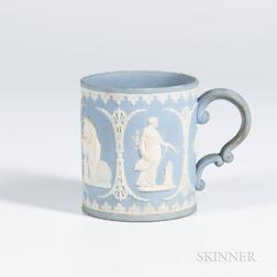 Adams Solid Light Blue Jasper Mug