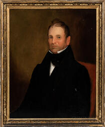British School, 19th Century      Brown-haired Gentleman, Looking Left