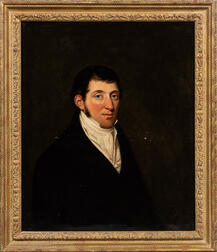 Attributed to Henry Perronet Briggs (British, 1791-1844)      Portrait of I. Barnard, Esq., Half Length