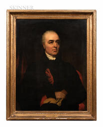 School of Sir Henry Raeburn (British, 1756-1823), Portrait of a Gentleman, Said to be Alexander, Third Son of Archibald Trotter of Bush