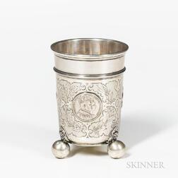 Continental .750 Silver Beaker