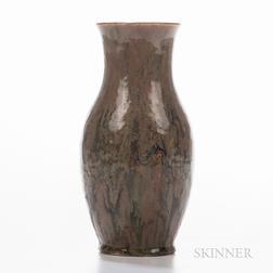 Hugh C. Robertson (1845-1908) for Dedham Pottery Experimental Glaze Vase
