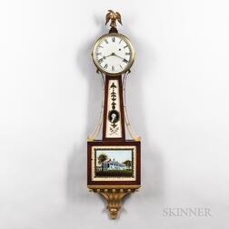 "Waltham Patent Timepiece or ""Banjo"" Clock"