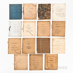 Fifteen Henry Alexander Scammel Dearborn (1783-1851) Speeches/Orations.