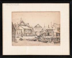 Max Kuehne (American, 1880-1968)      Gloucester Harbor