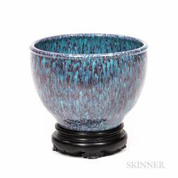Robin's Egg-glazed Deep Bowl