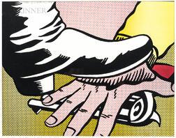 Roy Lichtenstein (American, 1923-1997)      Foot and Hand