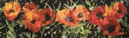 Deborah Rubin (American, b. 1948)      Nine Red Poppies