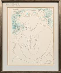 After Pablo Picasso (Spanish, 1881-1973)      Maternité