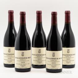 Comtes Lafon Volnay Santenots du Milieu 2010, 5 bottles