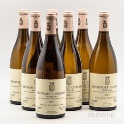 Comtes Lafon Meursault Charmes 2007, 7 bottles