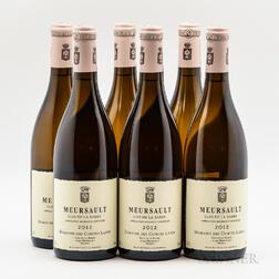 Comtes Lafon Meursault Clos de la Barre 2012, 6 bottles