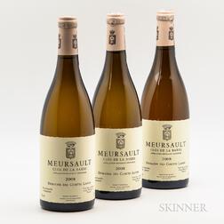 Comtes Lafon Meursault Clos de la Barre 2008, 3 bottles