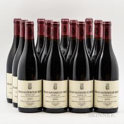 Comtes Lafon Volnay Santenots du Milieu 2011, 12 bottles