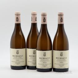 Comtes Lafon Meursault Clos de la Barre 2011, 4 bottles