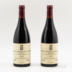 Comtes Lafon Volnay Santenots du Milieu 2001, 2 bottles