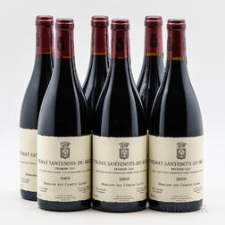 Comtes Lafon Volnay Santenots du Milieu 2009, 6 bottles