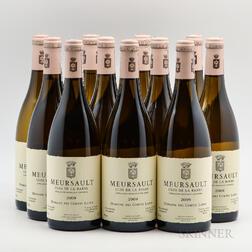 Comtes Lafon Meursault Clos de la Barre 2009, 12 bottles