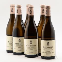 Comtes Lafon Meursault Clos de la Barre 2010, 6 bottles