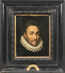 After Michiel Janszoon van Mierevelt (Dutch, 1567-1641)      Copy (partial) after a Portrait of William I, Prince of Orange