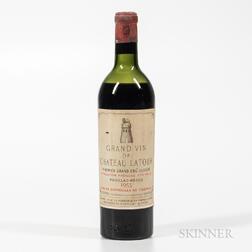 Chateau Latour 1953, 1 bottle