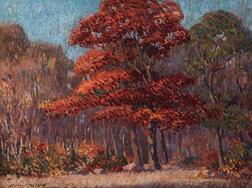 Harry Neyland (American, 1877-1958)      The Red Oak