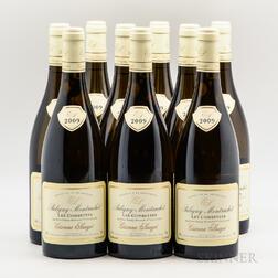 Sauzet Puligny Montrachet Les Combettes 2009, 9 bottles
