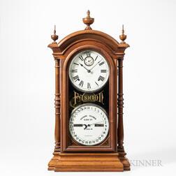 Southern Calendar Clock Company Fashion No. 4 Shelf Clock