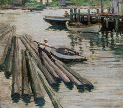 Frederic Milton Grant (American, 1886-1959)      Low Tide
