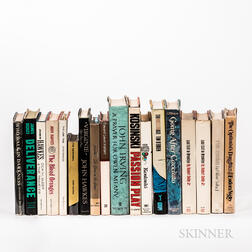 Seventeen Mostly First Edition Works of Psychological Fiction.