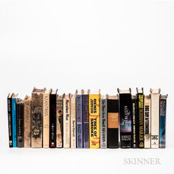 Twenty-one Mostly First Edition Works of Mystery/Crime/Thriller.