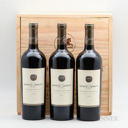 Barrett & Barrett Cabernet Sauvignon, 3 bottles (owc)