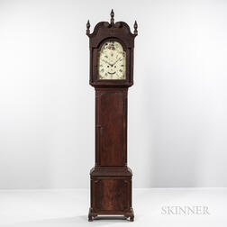 Alexander Cook Walnut Tall Clock