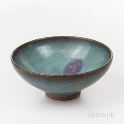 Jun-glazed Bowl