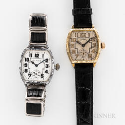Two Illinois Watch Co. Watches