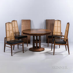 Foster and McDavid Dining Table and Four Chairs