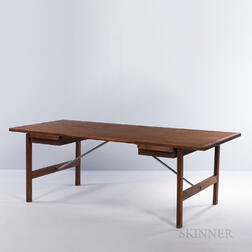 Hans J. Wegner (Danish, 1914-2007) for Andreas Tuck Desk