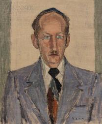 Ben Benn (American, 1884-1983)      Portrait of a Man