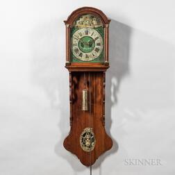 Hooded Dutch Wall Clock