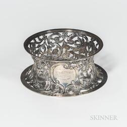 Victorian Irish Sterling Silver Dish Ring